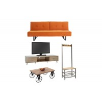 Student living room Spicy4  set of 4 pieces
