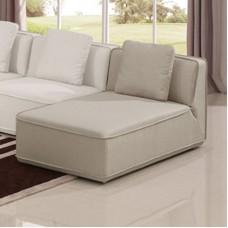 INFINITY Chaise Fabric Sand 1pcs
