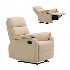 COMFORT Armchair Relax Beige Pu 1pcs