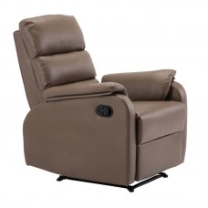COMFORT Armchair Relax Cappuccino Pu 1pcs