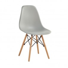 ART Wood Chair PP Grey 4pcs