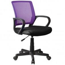 BF2010 Office Chair Purple/Black Mesh 1pcs
