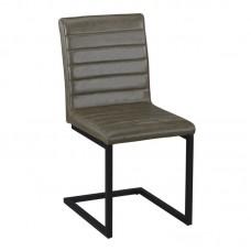 ALTO Chair Black Metal/Vintage Green Fabric 4pcs