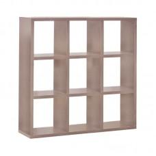 DECON Shelf Unit 9-Cells 117x39x117 Sonoma 1pcs