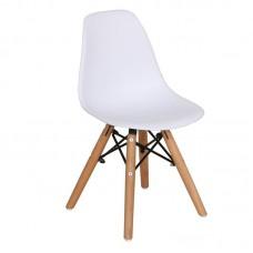 ART Wood Kid Chair PP White 4pcs