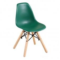 ART Wood Kid Chair PP Green 4pcs