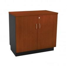 Low CABINET 80x45x75cm Dg/Cherry With Doors 1pcs