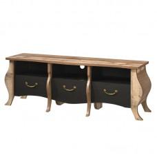 SCARLET TV Board 167x47x59 Antique Oak/Ebony Oak 1pcs