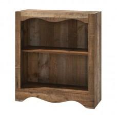 SCARLET Bookcase 1-Shelf 83x32x95cm Antique Oak 1pcs