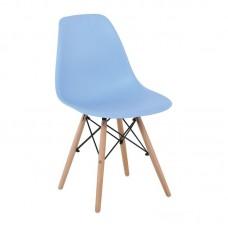 ART Wood Chair PP Light Blue 4pcs