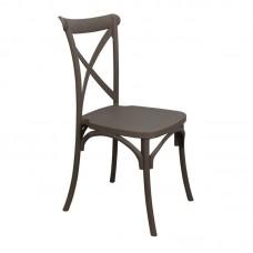 DESTINY PP Chair Mocha 1pcs
