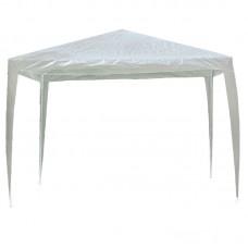 GAZEBO Folding 3x3m Steel White/Pe White 1pcs