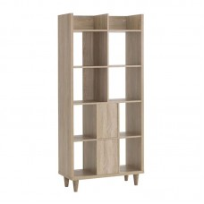 GROUP Shelf Unit 8-Cells 80x39x178 Sonoma Oak 1pcs