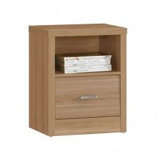 CALIBER Bedside 47x39x60 Sonoma Oak 1-Drawers 1pcs