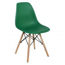 ART Wood Chair PP Light Green 4pcs