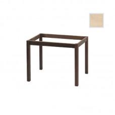 KAFENIOU Table Base 80x120cm Unpainted K/D 1pcs