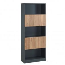 LOGIC Bookcase 80x39x202cm DG/Birch 1pcs