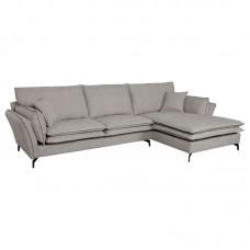 ROBERT Right Facing Corner Sofa Fabric Beige 1pcs