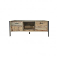 PALLET-W TV Board 2 Doors 124x40x50 Antique Oak 1pcs