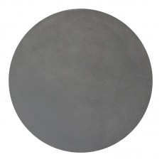 CONCRETE Table Top D.60/2,5cm Cement Grey 1pcs