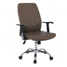 BF1450 Manager Armchair Cappuccino Pu 1pcs