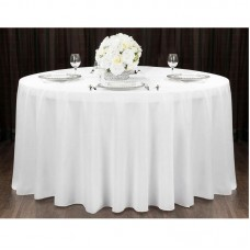 BLOW Round Tablecloth for Table D.181 Fabric Ivory 1pcs