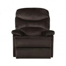 LUISA Armchair Relax Dark Brown Velure 1pcs