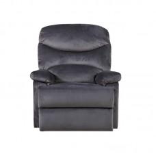LUISA Armchair Relax Dark Grey Velure 1pcs