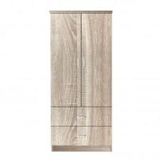 CLOSET Wardrobe 80x50x180cm Sonoma 1pcs