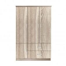 CLOSET Wardrobe 120x50x180cm Sonoma 1pcs