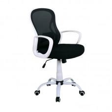BF2011 Office Armchair Black Mesh (PP white) 1pcs