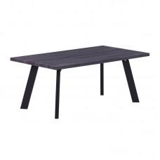 BAXTER Coffee Table 110x60cm Grey Walnut (Black Paint) 1pcs