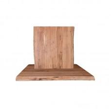 LIZARD Table Top 110x70/4cm, Acacia Natural Finish 1pcs