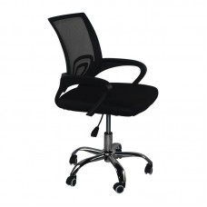 BF2101-F (without relax) Office Chair Chrome/Black Mesh (1pc) 1pcs