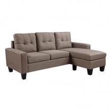 PORTO Reversible Corner Sofa / Fabric Cappuccino 1pcs