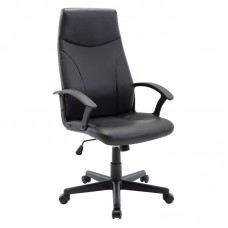 BF1250 Manager Armchair Black Pu 1pcs