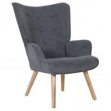 ALMA Armchair Grey Velure (K/D) 1pcs