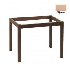 KAFENIOU Table Base 70x110cm Unpainted K/D 1pcs