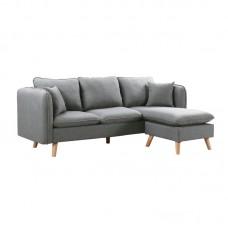 MOJO Reversible Corner Sofa / Fabric Light Grey 1pcs