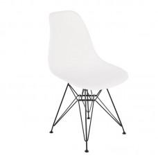 ART Chair Steel Black / PP White 4pcs