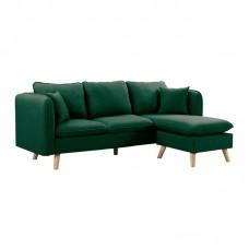 MOJO Reversible Corner Sofa / Fabric Green 1pcs