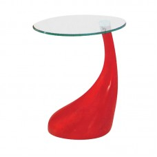 DRINK Side Table Red 1pcs