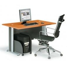 BASIC Desk 120x80cm DG/Cherry 1pcs