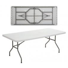 BLOW Catering Folding Table 183x76 White 1pcs