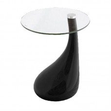 DRINK Side Table Black 1pcs