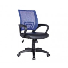 BF2101 (with relax) Office Armchair Blue Mesh/Black Pu 1pcs