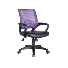 BF2101 (with relax) Office Armchair Purple Mesh/Black Pu 1pcs