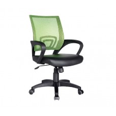 BF2101 (with relax) Office Armchair Light Green Mesh/Black Pu 1pcs