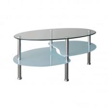CORSICA Coffee Table 90x50 Oval 1pcs