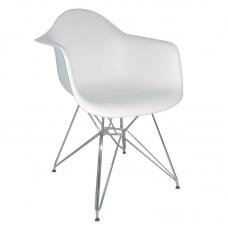 ALEA Armchair PP White 4pcs